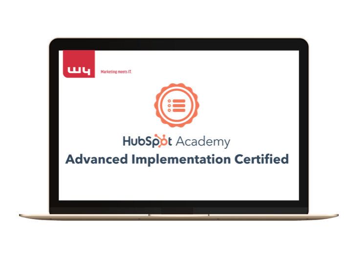 W4 HubSpot Advanced CMS Implementation Certification