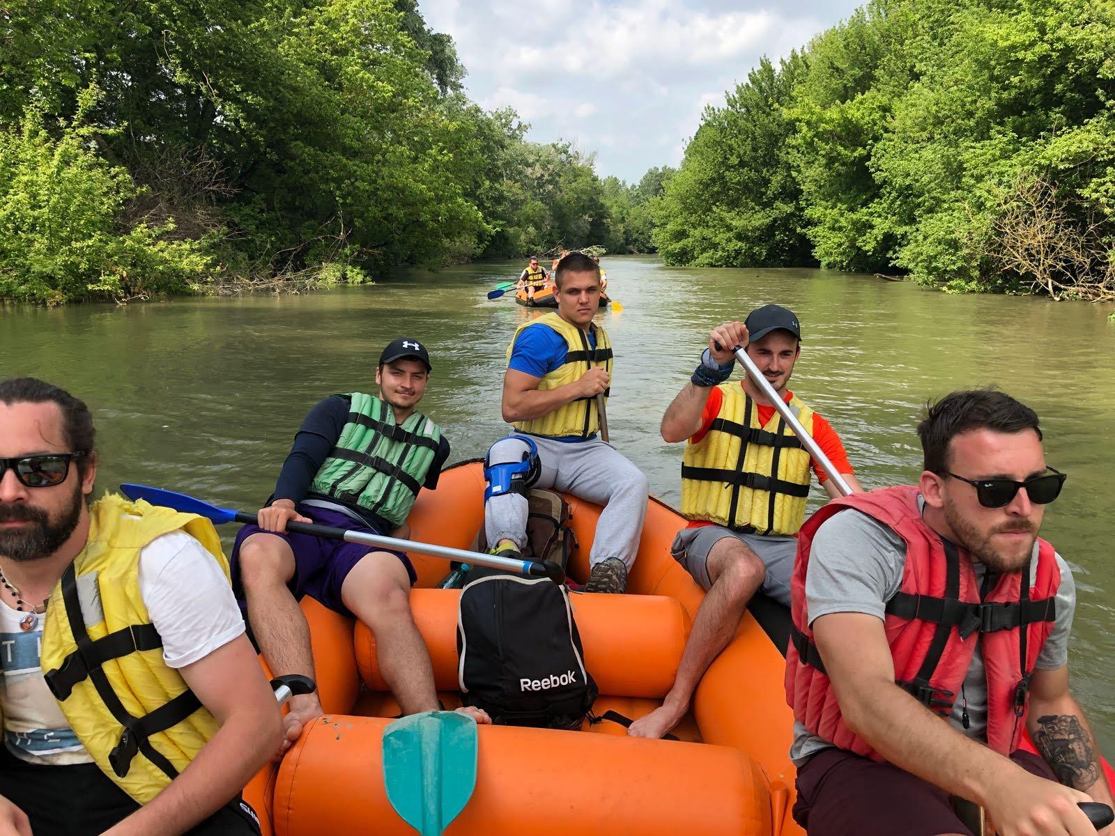W4 Team Event Rafting Bratislava