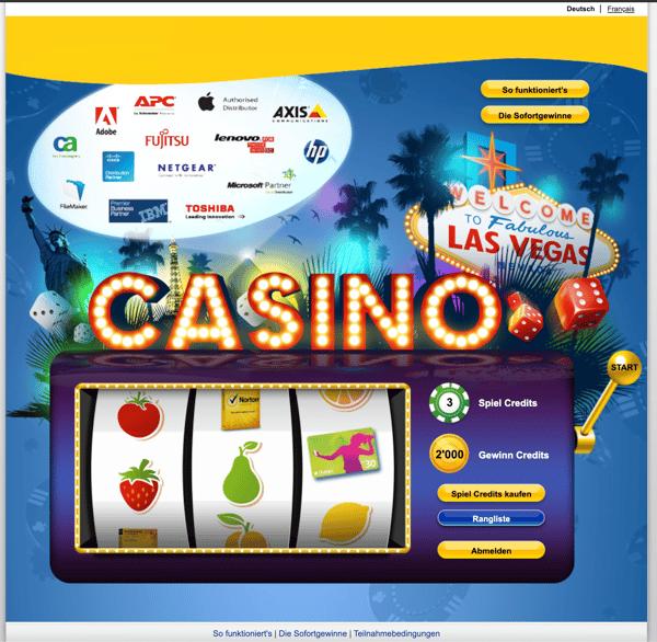 Sales Slot Maschine