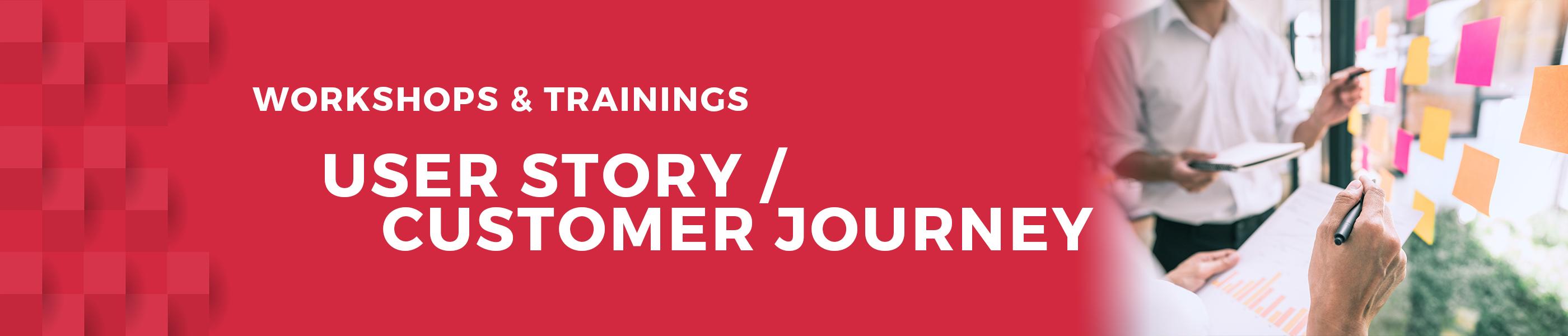 User story business marketing workshop