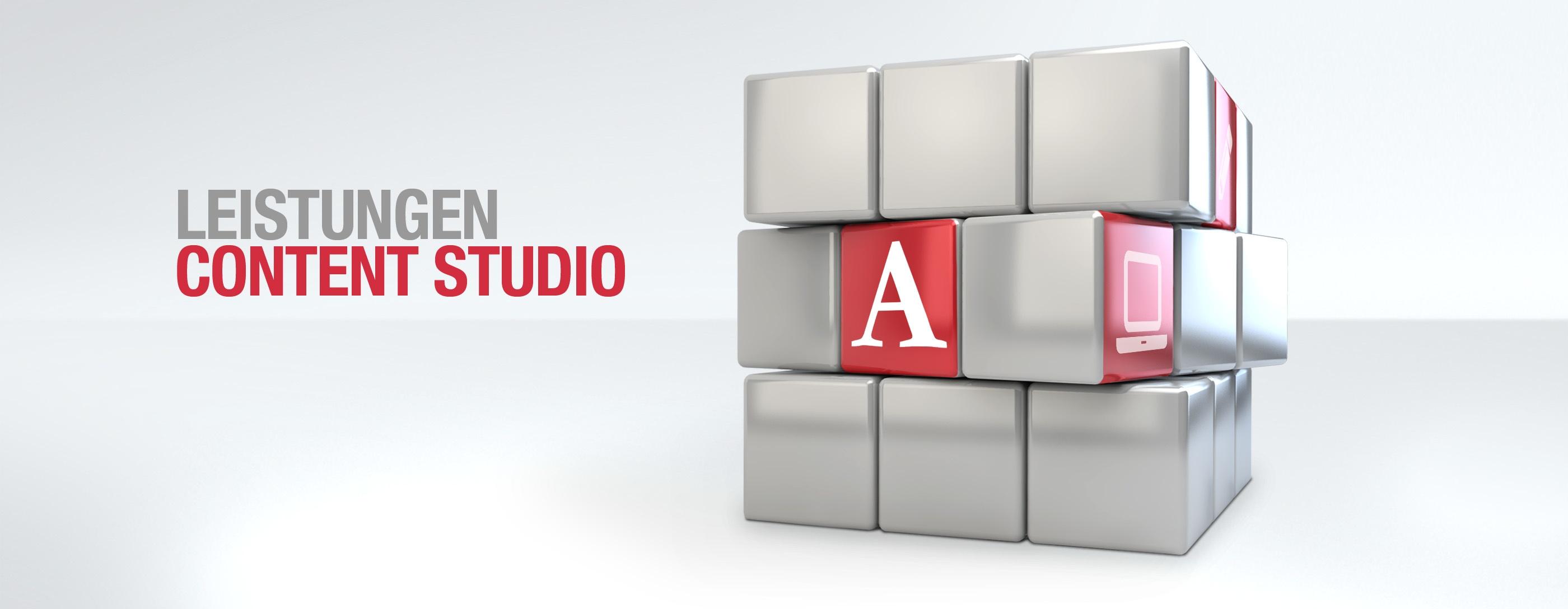 Leistungen Content Studio