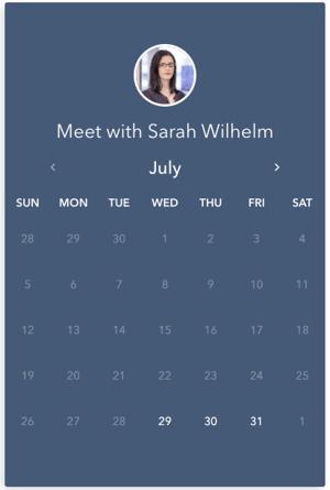 Book a meeting 1