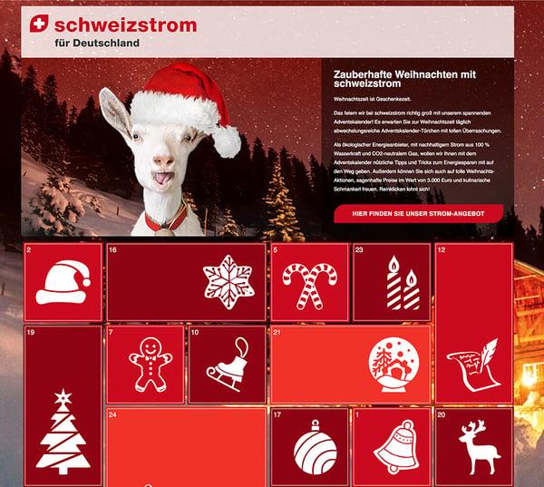Adventskalender schweizstrom