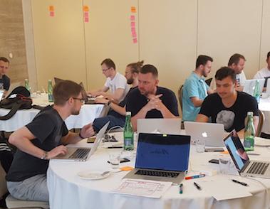 Erster W4 Hackathon in Bratislava