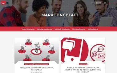 marketingblatt.com Relaunch