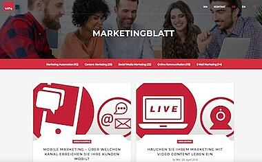 Relaunch von marketingblatt.com