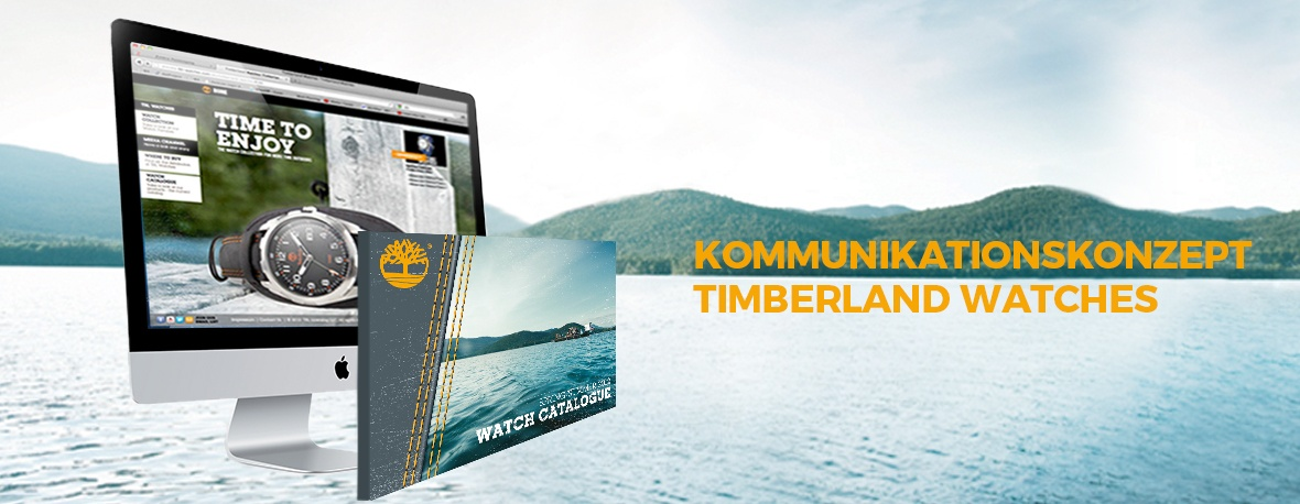Kommunikationskonzept Timberland Watches
