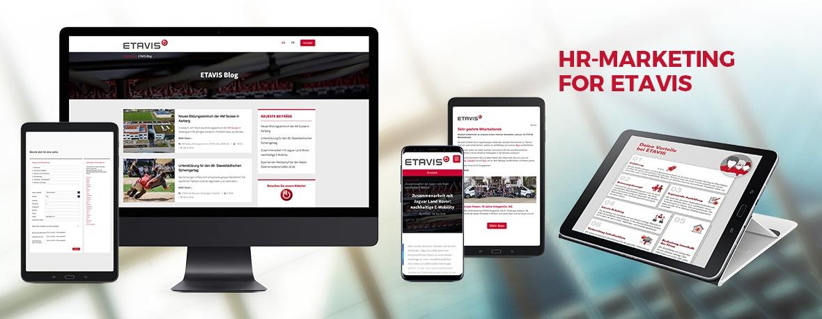 HR marketing for ETAVIS