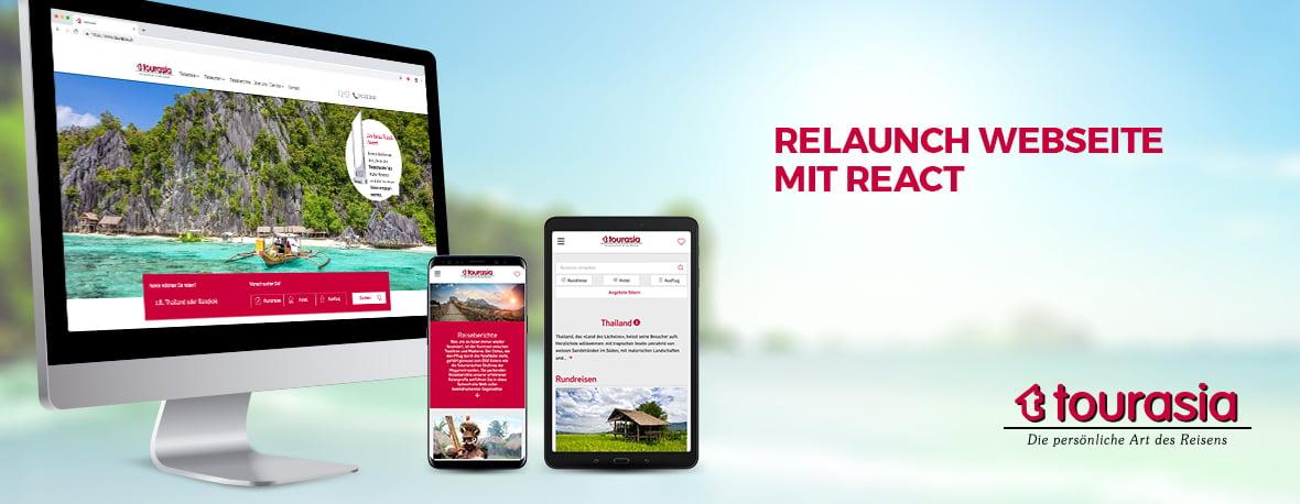 Website Relaunch Tourasia