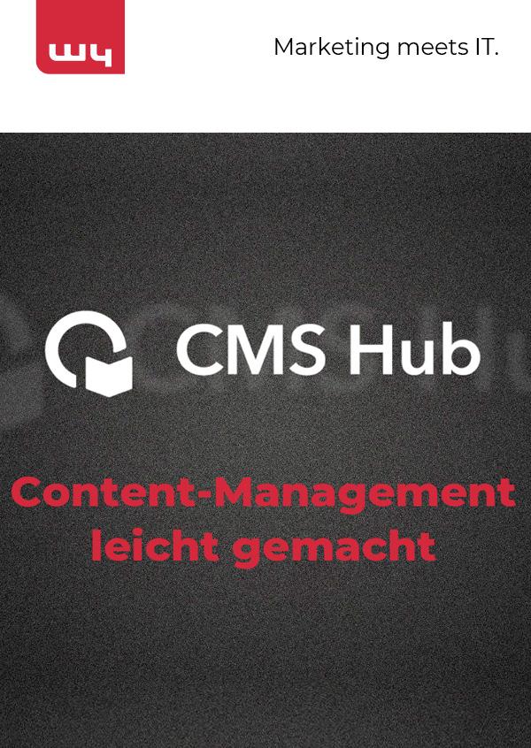 CMS Hub – Content Management leicht gemacht