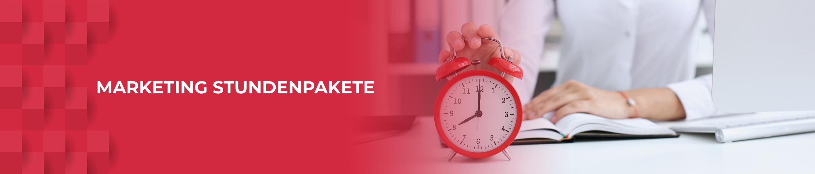 Stundenpakete bei W4 Marketing. Volle Transparenz